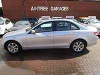USED 2010 60 MERCEDES-BENZ C CLASS 1.8 C180 CGI BLUEEFFICIENCY SE 4d 156 BHP FULL MB SERVICE HISTORY