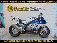 USED 2016 16 BMW S1000RR 193 BHP GOOD & BAD CREDIT ACCEPTED, OVER 500+ BIKES