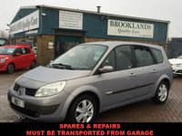 USED 2005 55 RENAULT GRAND SCENIC  Being sold as spares and repairs Must be transported from garage  being sold as spares and repairs and must be transported from garage and no warranty given !!