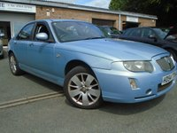 USED 2005 54 ROVER 75 2.5 CONTEMPORARY SE V6 4d AUTO 175 BHP GOOD HISTORY 14 STAMPS IN BOOK