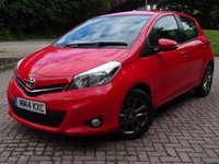 USED 2014 14 TOYOTA YARIS 1.4 D-4D ICON PLUS 5d 90 BHP