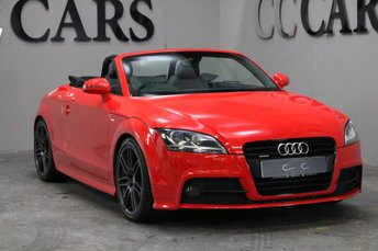 2011 AUDI TT 2.0 TDI QUATTRO S LINE BLACK EDITION 2d 168 BHP £12495.00