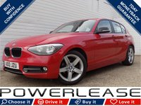 "USED 2012 12 BMW 1 SERIES 2.0 116D SPORT 5d 114 BHP SUPERB EXAMPLE SPORTS SEATS 17"" ALLOYS"