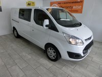 USED 2014 14 FORD TRANSIT CUSTOM 2.2 290 LIMITED LR DCB 1d 124 BHP