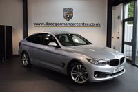 USED 2013 13 BMW 3 SERIES 2.0 320D SPORT GRAN TURISMO 5DR AUTO 181 BHP + FULL BLACK LEATHER INTERIOR + FULL BMW SERVICE HISTORY + BLUETOOTH + HEATED SPORT SEATS + REVERSE CAMERA + XENON LIGHTS + CRUISE CONTROL + RAIN SENSORS + PARKING SENSORS + 18 INCH ALLOY WHEELS +