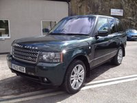 USED 2009 LAND ROVER RANGE ROVER 3.6 TDV8 VOGUE SE 5d AUTO 271 BHP W123 KED PLATE INCLUDED ** FULL MAIN DEALER SERVICE HISTORY **
