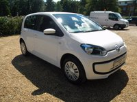 USED 2014 14 VOLKSWAGEN UP 1.0 MOVE UP 5d 59 BHP £20 Years Tax, Good MPG, Low Insurance Group