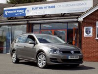 USED 2014 14 VOLKSWAGEN GOLF 1.6 TDi SE BLUEMOTION TECHNOLOGY 5dr 103 BHP