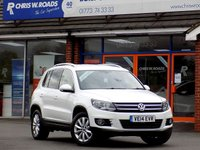 USED 2014 14 VOLKSWAGEN TIGUAN 2.0 TDi MATCH BLUEMOTION TECHNOLOGY 4MOTION * Sat Nav * *ONLY 9.9% APR with FREE Servicing*