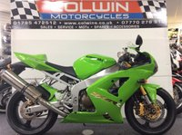 USED 2005 05 KAWASAKI ZX-6RR 599cc ZX600RR EXTREMELY RARE AND AS NEW!!!!!