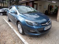 USED 2014 64 VAUXHALL ASTRA 1.7 EXCITE CDTI 5d 108 BHP FULL VAUXHALL SERVICE HISTORY, 1 OWNER FROM NEW, £30 A YEAR ROAD TAX, 2 KEYS, BLUETOOTH PHONE CONNECTION