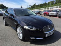 USED 2014 64 JAGUAR XF SPORTBRAKE 2.2d PORTFOLIO Estate Diesel Only 18,000 miles with FSH, high Portfolio specification