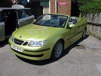 2007 SAAB 9-3 2.0 LINEAR T 2d 150 BHP £SOLD