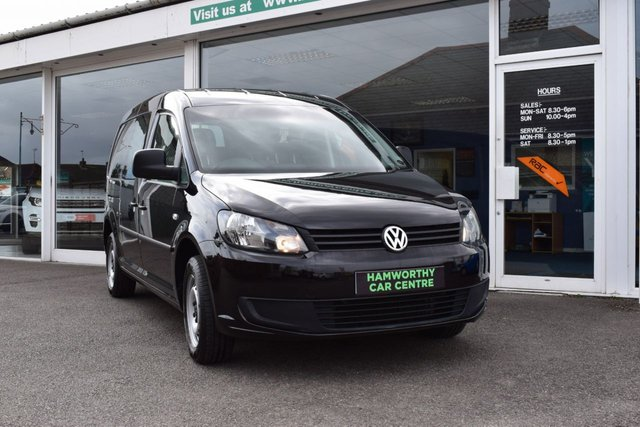 2013 13 VOLKSWAGEN CADDY MAXI   C20 1.6 TDI KOMBI 140 BHP 5 SEAT CREW VAN SIDE WINDOWS AIR-CON