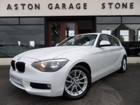 2012 BMW 1 SERIES 2.0 116D SE 5d 114 BHP **LEATHER** £8990.00