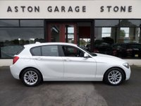 USED 2012 61 BMW 1 SERIES 2.0 116D SE 5d 114 BHP **LEATHER** ** ONE OWNER * FULL SERVICE HISTORY * BLACK LEATHER **
