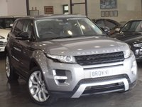 USED 2011 61 LAND ROVER RANGE ROVER EVOQUE 2.2 SD4 DYNAMIC 5d AUTO 190 BHP PAN ROOF+SAT NAV+LTHR+1 OWNER