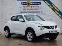 USED 2013 63 NISSAN JUKE 1.6 VISIA 5d 93 BHP One Owner + Service History 0% Deposit Finance Available