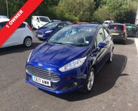 USED 2017 17 FORD FIESTA 1.0 ZETEC 5d 100 BHP ECOBOOST NAVIGATOR THIS VEHICLE IS AT SITE 2 - TO VIEW CALL US ON 01903 323333