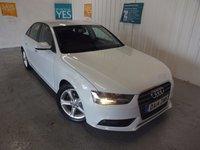2014 AUDI A4 2.0 TDI ULTRA SE TECHNIK 4d 161 BHP £12995.00