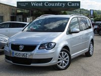 USED 2010 10 VOLKSWAGEN TOURAN 1.9 MATCH TDI 5d 103 BHP Low Running Costs And Very Practical
