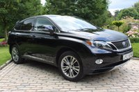 USED 2012 LEXUS RX 3.5 450H ADVANCE PAN ROOF 5d AUTO 295 BHP HYBRID ELECTRIC