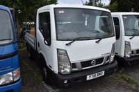 USED 2016 16 NISSAN NT400 CABSTAR 2.5 DCI 35.14 DROPSIDE 2d 136 BHP SWB RWD TWIN WHEEL DIESEL DROPSIDE LORRY ONE OWNER FULL S/H EURO 5