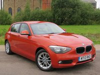 USED 2013 13 BMW 1 SERIES 1.6 116D EFFICIENTDYNAMICS 5d 114 BHP STUNNING COLOUR, MUST BE SEEN!