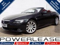 USED 2008 57 BMW 6 SERIES 3.0 635D SPORT 2d AUTO 282 BHP FULL SERVICE HISTORY BIG SPEC