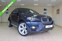 USED 2010 60 BMW X6 3.0 XDRIVE30D 4d AUTO 241 BHP SATELLITE NAVIGATION, MEDIA AND DYNAMIC PACK, REVERSE CAMERA WITH TOP VIEW, ADAPTIVE HEADLIGHTS, ELECTRIC FRONT SEAT - DRIVERS WITH MEMORY, HUGE SPEC TOO MUCH TO LIST