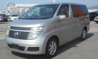 USED 2003 NISSAN ELGRAND 4 WHEEL DRIVE NOW CONVERTED TO OUR LONG SIDE CONVERSION - EVERY CONVERTED CAMPERVAN COMES WITH OUR 3 YEAR MECHANICAL AND INTERIOR WARRANTY Nissan Elgrand
