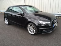USED 2011 61 AUDI A1 1.4 TFSI S LINE 3d 122 BHP 1 LADY OWNER, FSH, HIGH SPEC