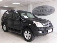 USED 2005 55 TOYOTA LAND CRUISER 3.0 LC5 8-SEATS D-4D 5d 164 BHP Sought After Seven Seat 4X4 With Full History & High Spec Including Sat Nav