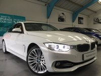 USED 2014 14 BMW 4 SERIES 3.0 435I LUXURY 2d AUTO 302 BHP