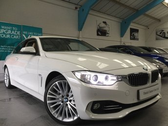 2014 BMW 4 SERIES 3.0 435I LUXURY 2d AUTO 302 BHP £23490.00