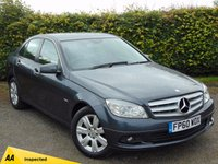USED 2010 60 MERCEDES-BENZ C CLASS 1.8 C180 CGI BLUEEFFICIENCY EXECUTIVE SE 4d AUTO 156 BHP 128 POINT AA INSPECTED & 12 MONTHS FREE AA MEMBERSHIP