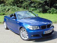 USED 2008 58 BMW 1 SERIES 2.0 118I M SPORT 2d 141 BHP LOW MILEAGE WITH FULL LEATHER INTERIOR