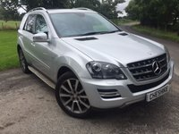 USED 2011 61 MERCEDES-BENZ M CLASS 3.0 ML350 CDI BLUEEFFICIENCY GRAND EDITION 5d AUTO 231 BHP