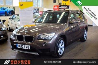 2013 BMW X1 2.0 SDRIVE20D EFFICIENTDYNAMICS 5d 161 BHP £10000.00