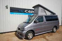 USED 2004 MAZDA BONGO WITH SWIVEL FRONT SEAT & NEW SIDE CONVERSION - EVERY CONVERTED CAMPERVAN COMES WITH OUR 3 YEAR MECHANICAL AND INTERIOR WARRANTY IMACULATE BONGO IN PEAR WOOD
