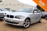 USED 2010 10 BMW 1 SERIES 2.0 116I SPORT 5d 121 BHP Bluetooth, 6 months warranty