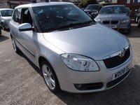 2008 SKODA FABIA 1.6 LEVEL 3 16V 5d AUTO 103 BHP £3695.00