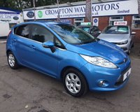 USED 2012 12 FORD FIESTA 1.6 TITANIUM ECONETIC II TDCI 5d 94 BHP 0% FINANCE AVAILABLE PLEASE CALL 01204 317705