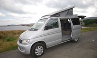 USED 2001 MAZDA BONGO  4 BERTH CAMPER WITH A NEW SIDE CONVERSION AND ELEVATING ROOF AND HAS OUR 3 YEAR NATIONWIDE WARRANTY ON BOTH THE VEHICLE AND CONVERSION DEPOSIT TAKEN BUT ANOTHER IN PRODUCTION ELEVATING ROOF