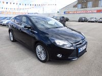 USED 2013 63 FORD FOCUS 1.0 ZETEC 5d 99 BHP LOW MILEAGE * FSH * GOT POOR CREDIT * WE CAN HELP