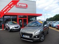 USED 2014 14 PEUGEOT 3008 1.6 HDI ACTIVE 5d 115 BHP A/C,ALLOYS,12 MONTHS WARRANTY