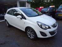 USED 2014 64 VAUXHALL CORSA 1.0 EXCITE ECOFLEX 3d 64 BHP Low Mileage, Vauxhall Service History + Just Serviced by ourselves, One Lady Owner from new, NEW MOT (to be completed), Great on fuel! Only £30 Road Tax! Low Insurance Group!