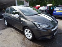 USED 2015 15 VAUXHALL CORSA 1.2 STING 3d 69 BHP One Lady Owner from new, MOT until July 2018, Just Serviced by ourselves, Balance of Vauxhall Warranty until 2018, Very Low Insurance Group!