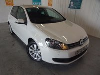 2010 VOLKSWAGEN GOLF 2.0 MATCH TDI BLUEMOTION TECHNOLOGY 5d 138 BHP £7995.00