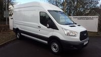 USED 2015 65 FORD TRANSIT 350 2.2 125 BHP L3 H3  6 SPEED 5 DR Choice of 70 VANS